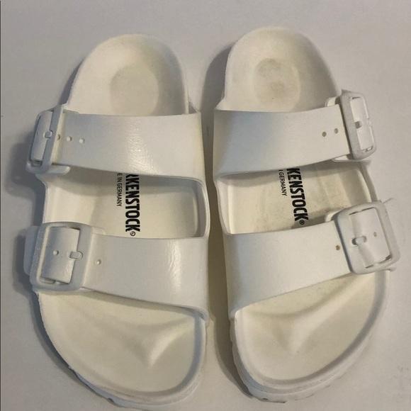 Arizona Eva Rubber Sandals White